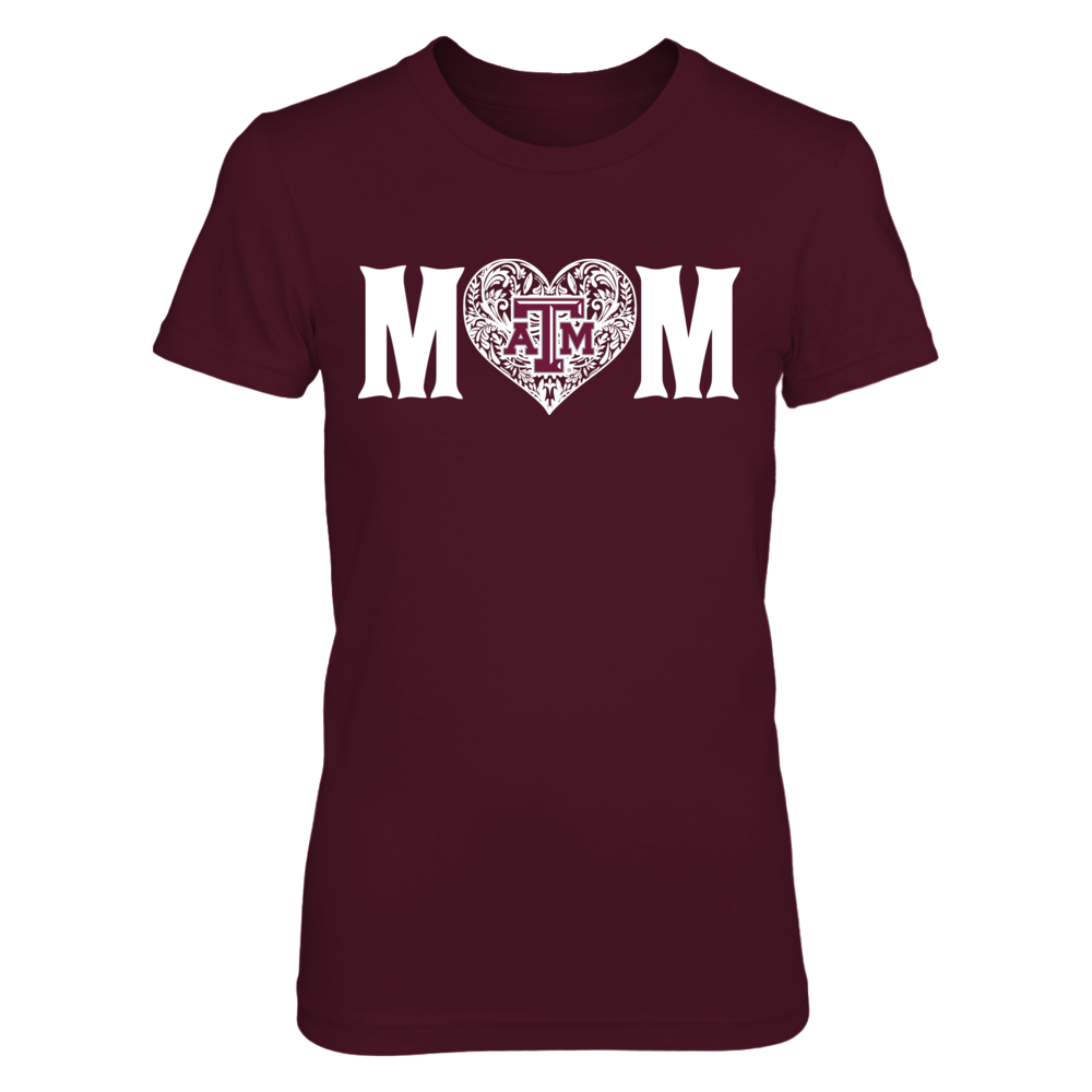 Texas A&M Aggies - Mom patterned letter Front picture