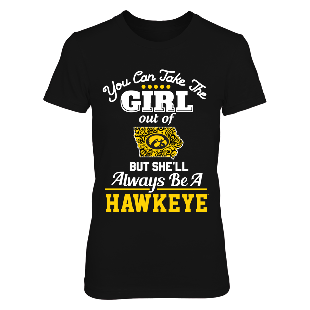 Iowa Hawkeyes -  Take the Girl Out - Lace Pattern Front picture