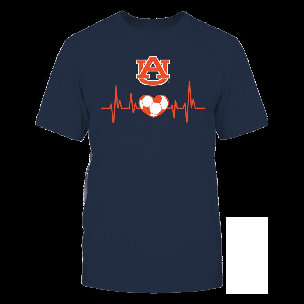 Auburn Soccer Heartbeat Front picture