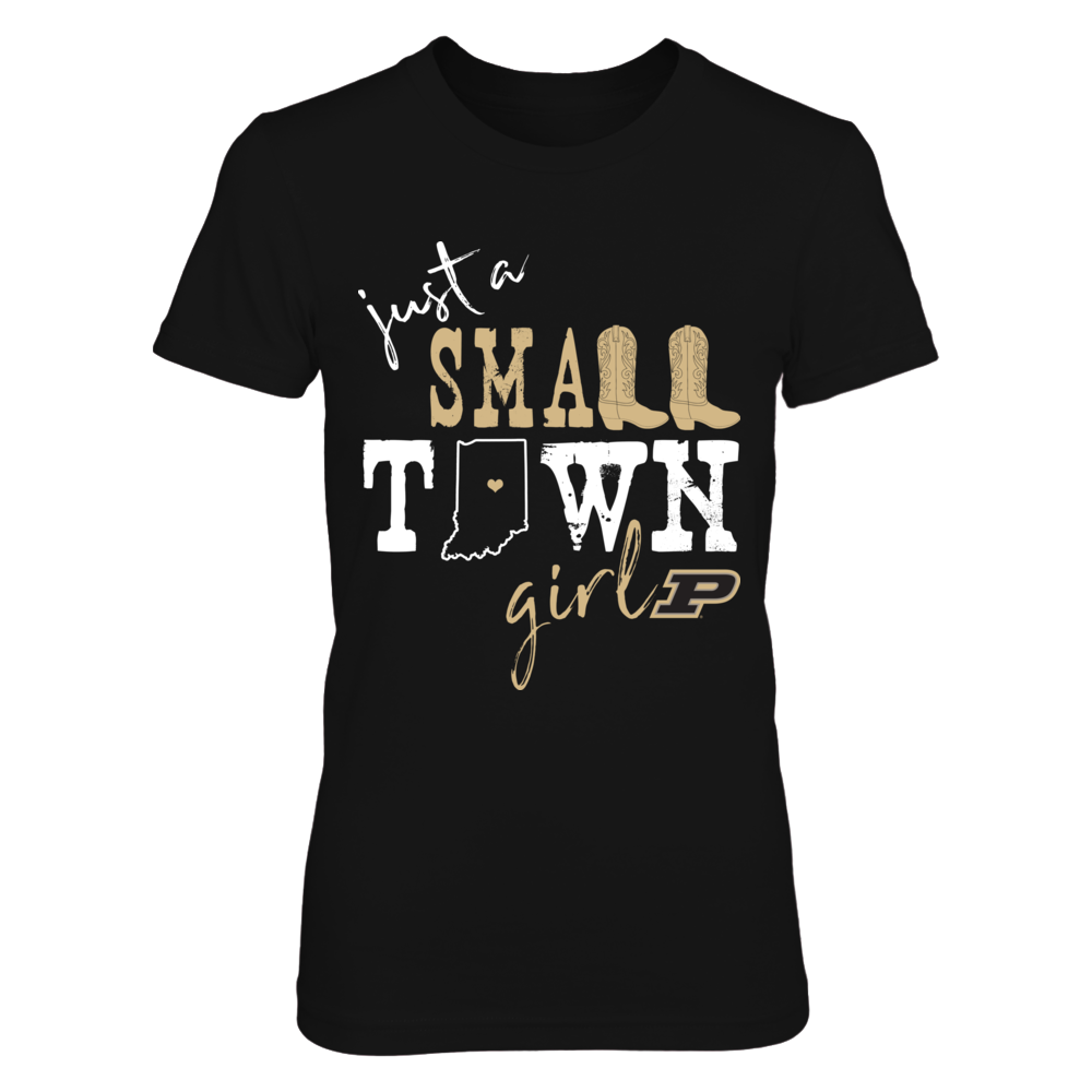 Purdue Boilermakers - Small town girl - State Outline - IF-IC13-DS64 Front picture