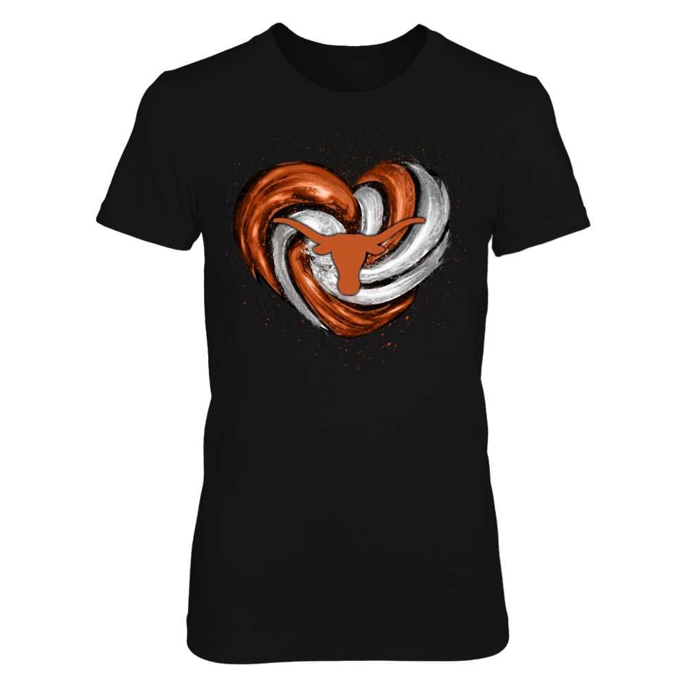 Texas Longhorns - Hurricane heart Front picture