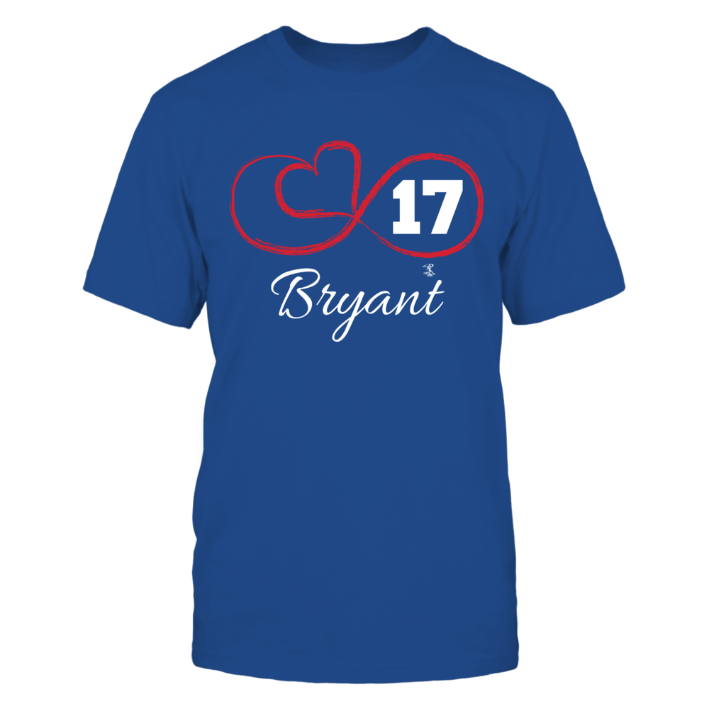 Kris Bryant - Infinity Heart Player Number Front picture