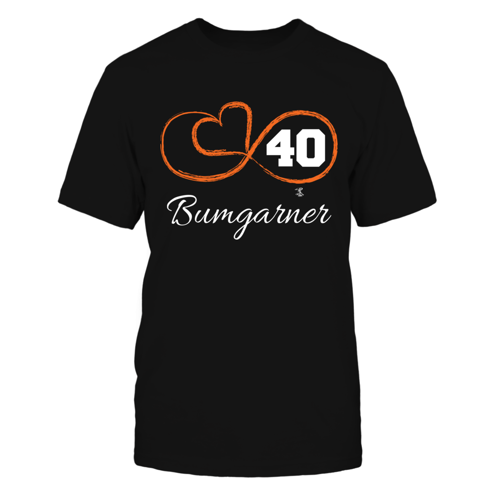 Madison Bumgarner - Infinity Heart Player Number Front picture
