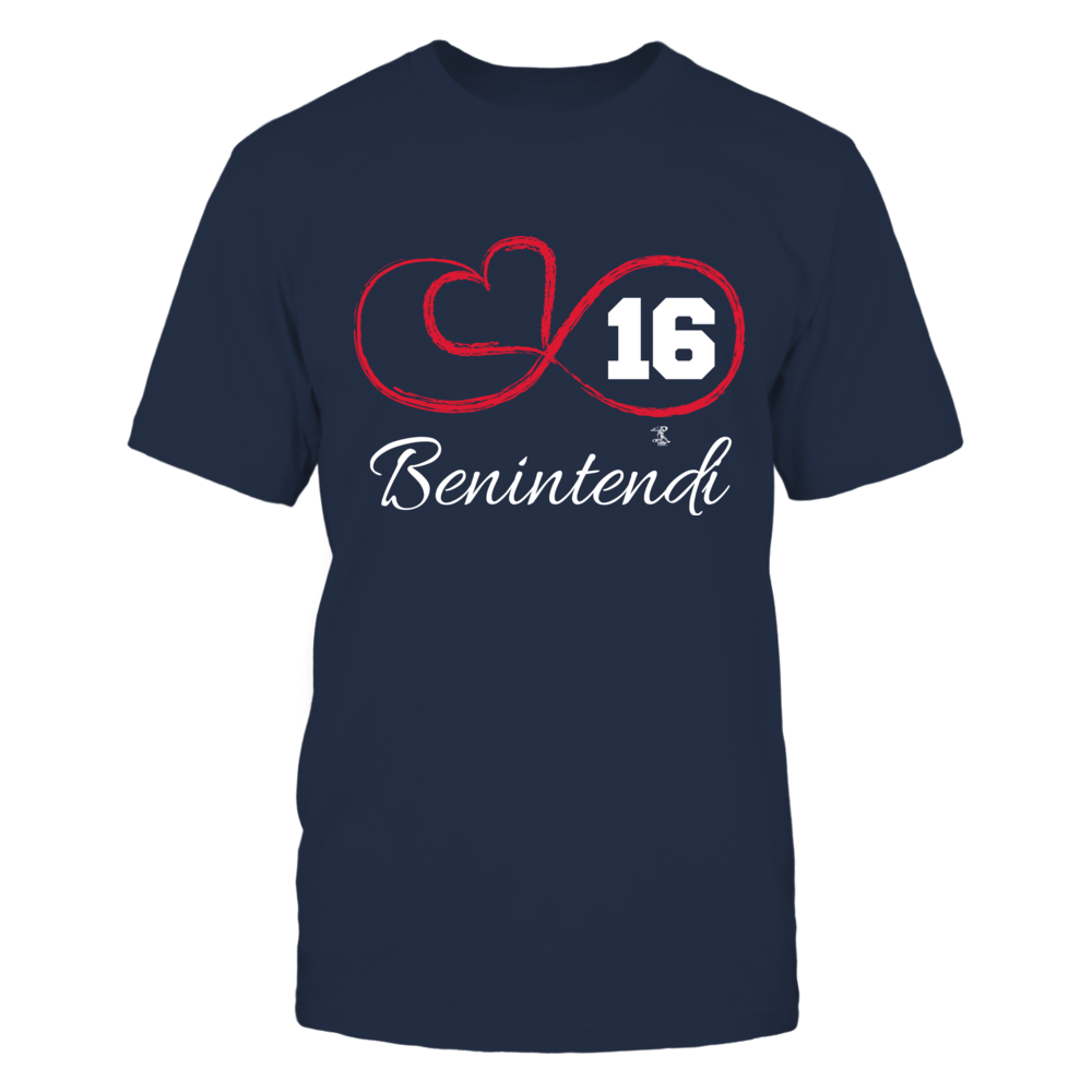 Andrew Benintendi - Infinity Heart Player Number Front picture