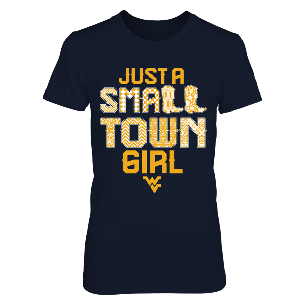 West Virginia Mountaineers - Small town girl pattern Front picture