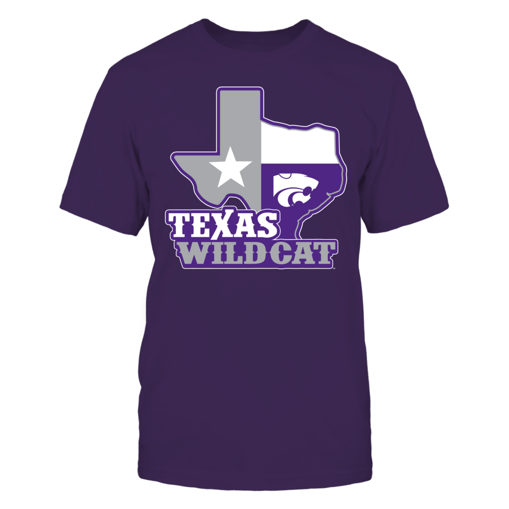 Kansas State Wildcats - Texas Map Mascot Front picture