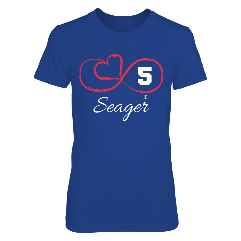 Corey Seager - Infinity Heart Player Number Front picture