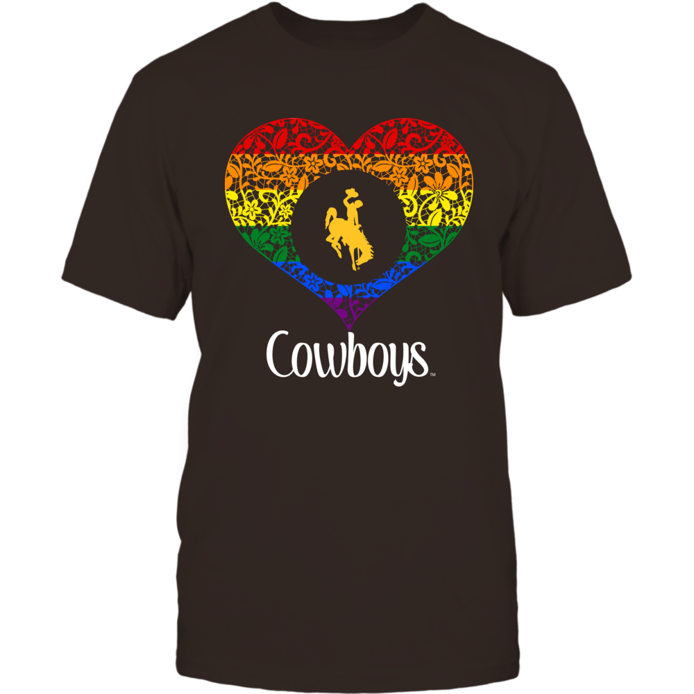 Wyoming Cowboys - Lace Pride Heart Front picture