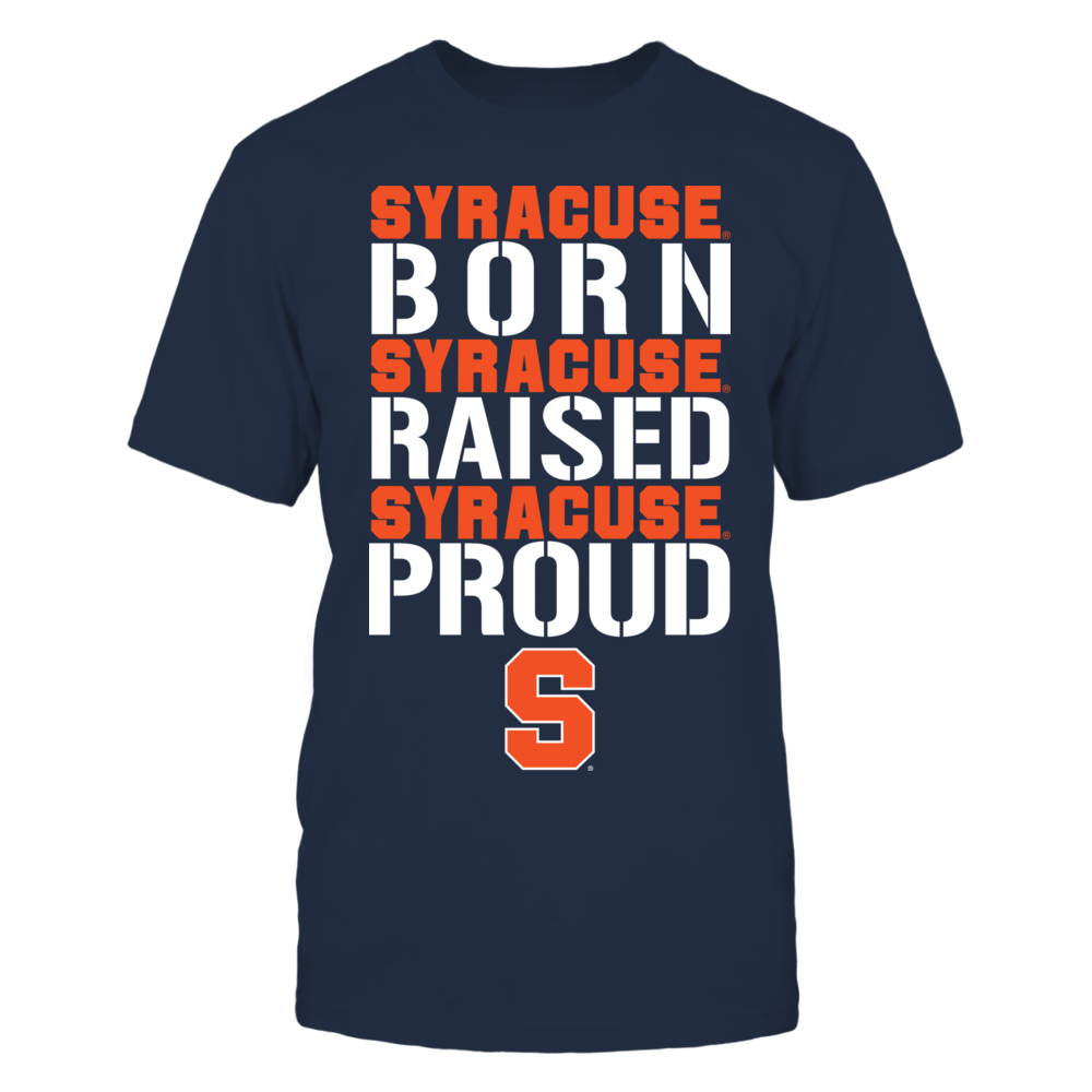Born Raised Proud - Syracuse Orange Front picture