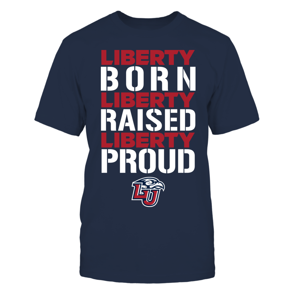 Born Raised Proud - Liberty Flames Front picture