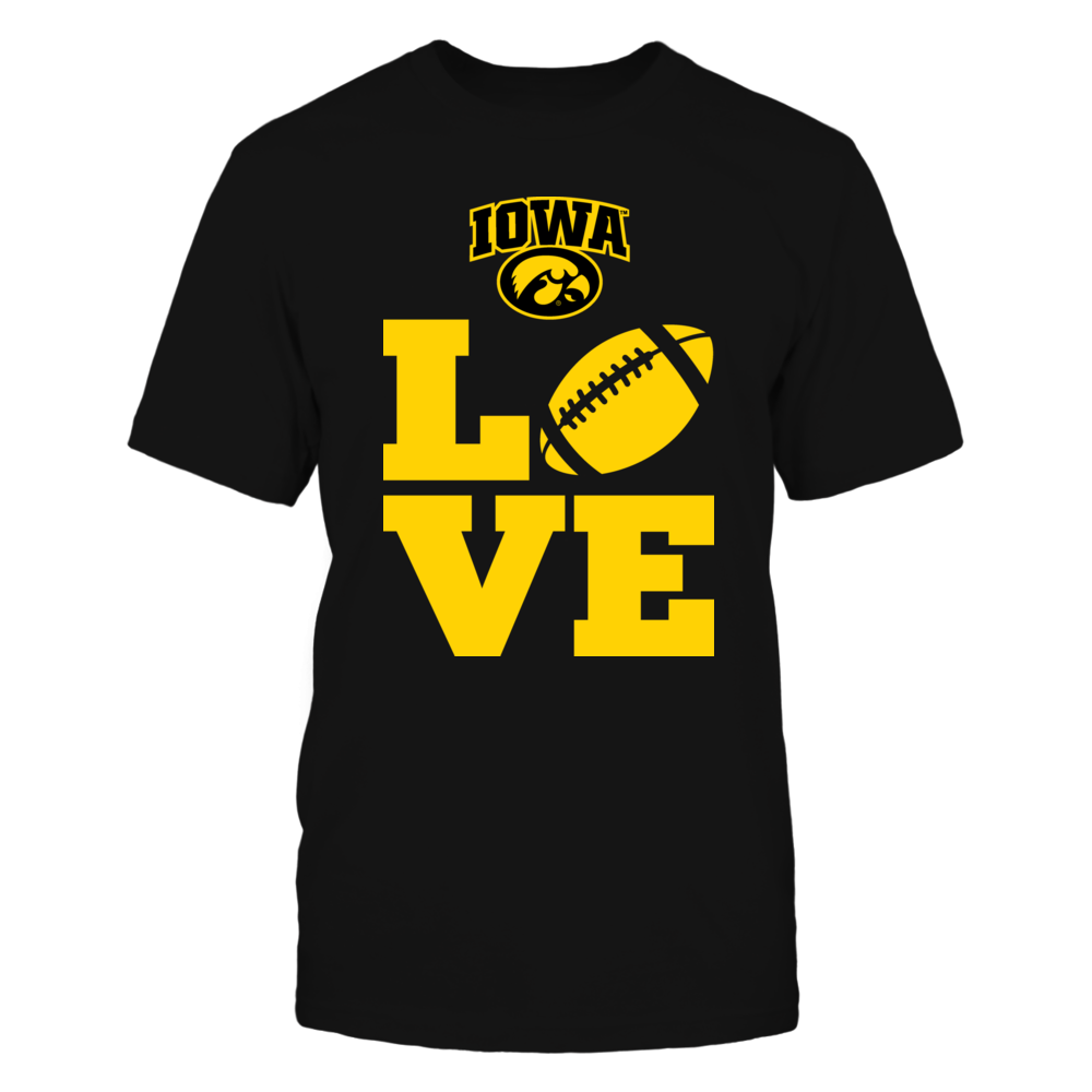 Love Iowa Hawkeyes Football Front picture