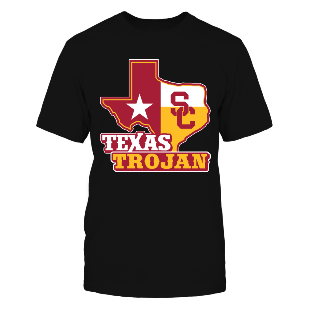 USC Trojans - Texas Map Mascot Front picture