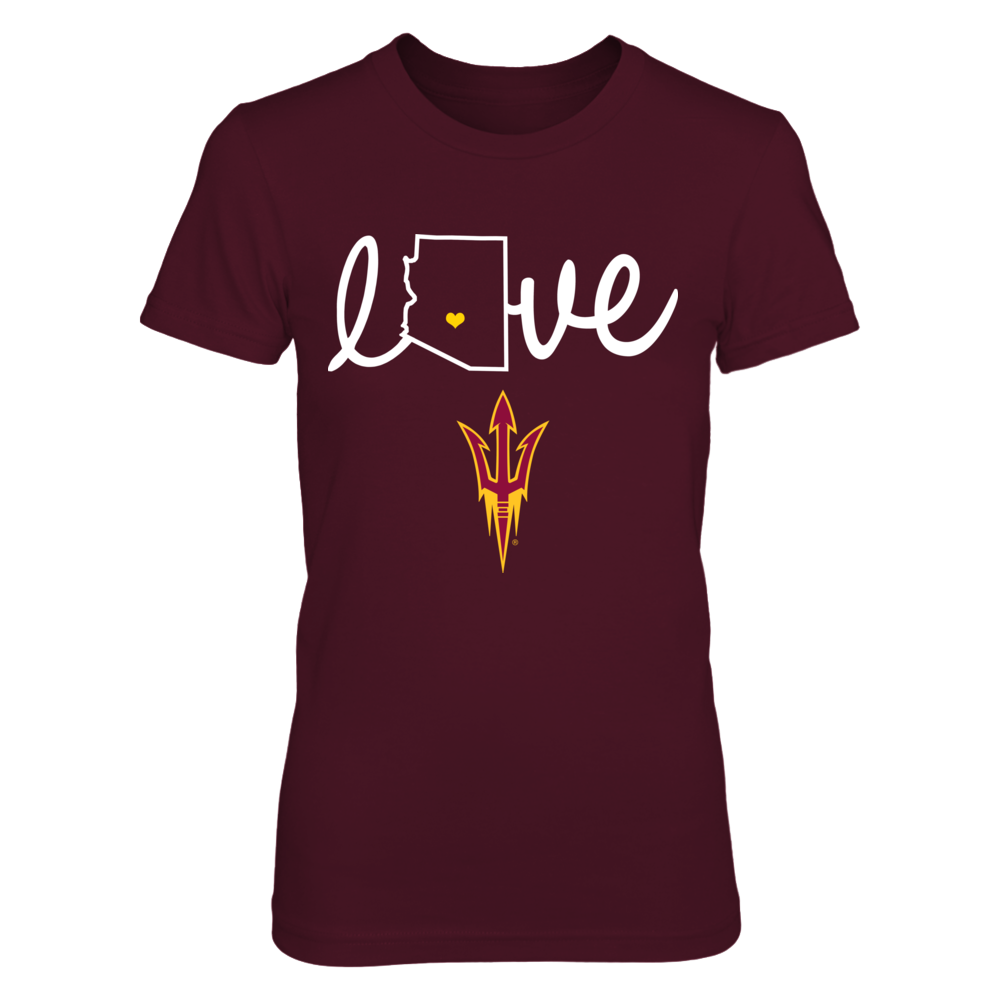 Arizona State Sun Devils - State love - ver 2 - IF-IC13-DS45 Front picture