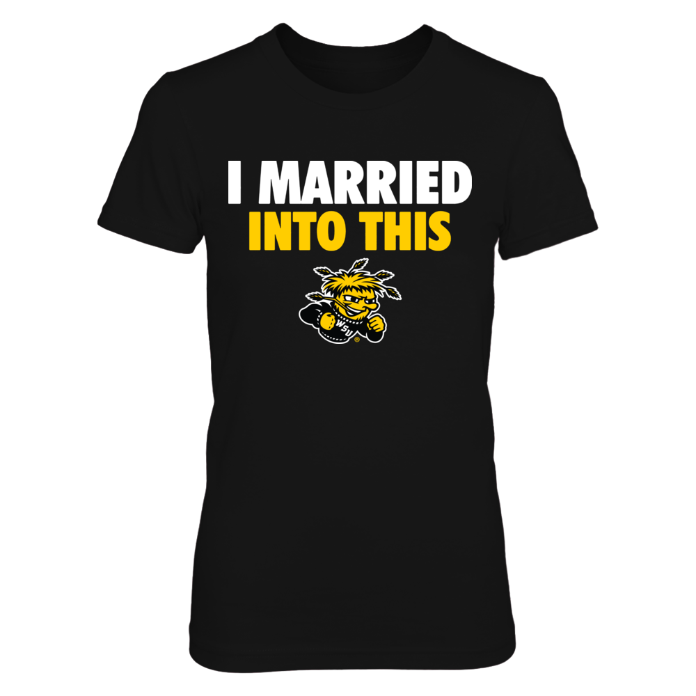 Wichita State Shockers - I married into this Front picture