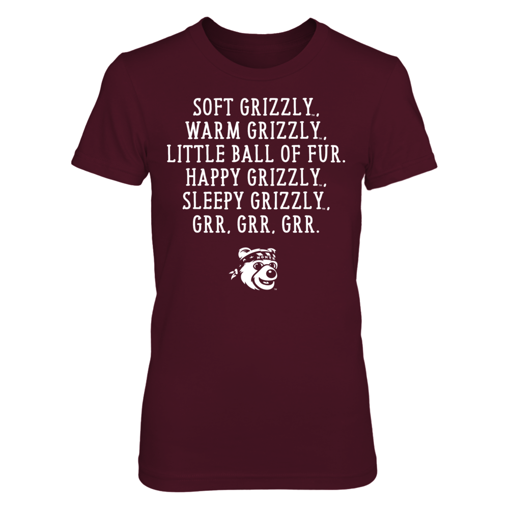 Soft Warm - Montana Grizzlies Front picture