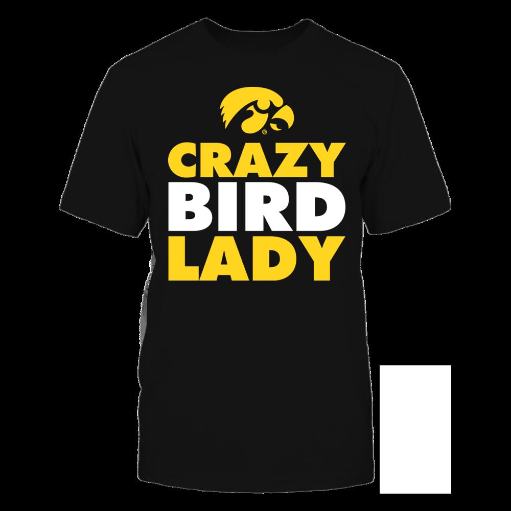 Iowa Hawkeyes - Crazy Bird Lady Front picture