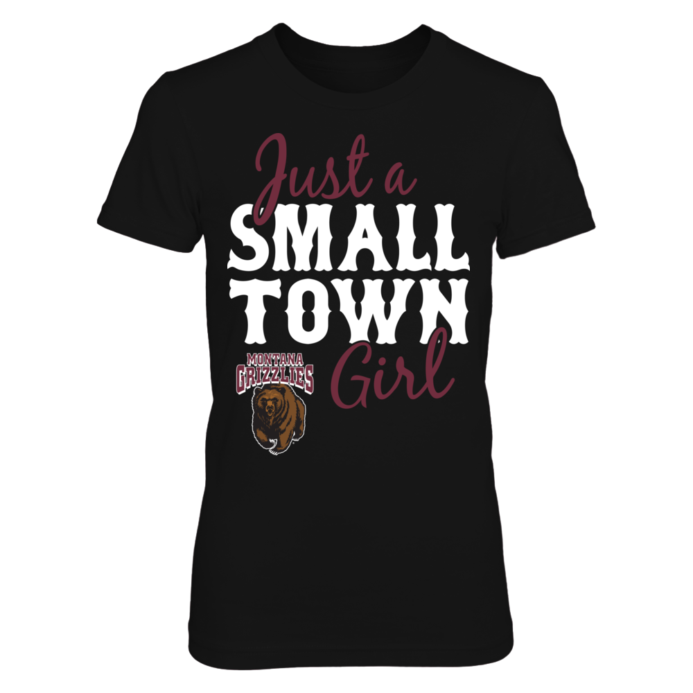 Just A Small Town Girl - Montana Grizzlies Front picture