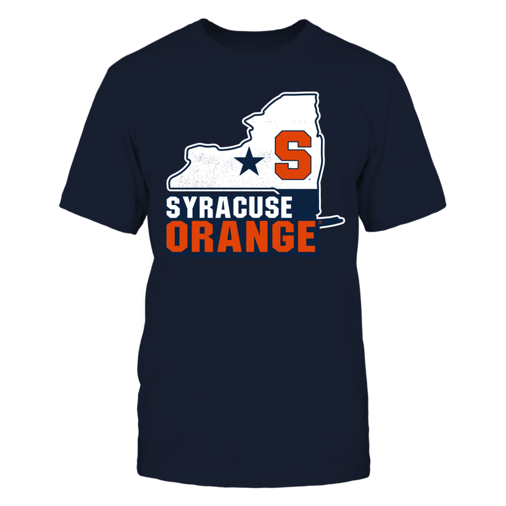 Map Mascot - State - Syracuse Orange Front picture