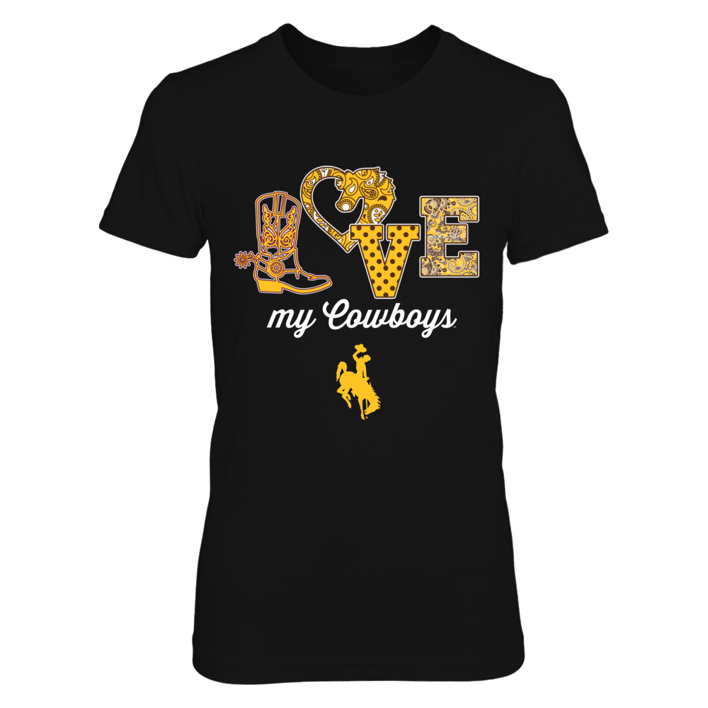 Wyoming Cowboys - LOVE Paisley Horse Front picture