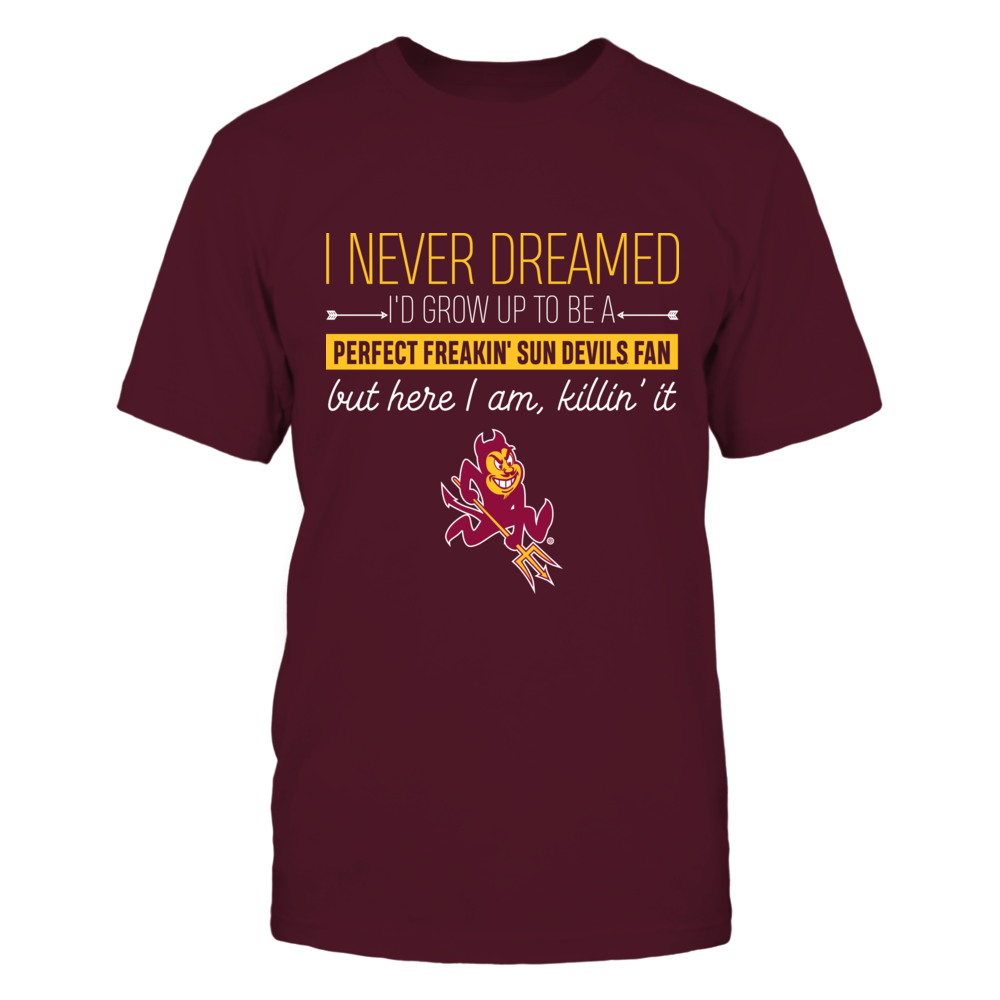 Arizona State Sun Devils - Dreamed To Be A Fan Front picture