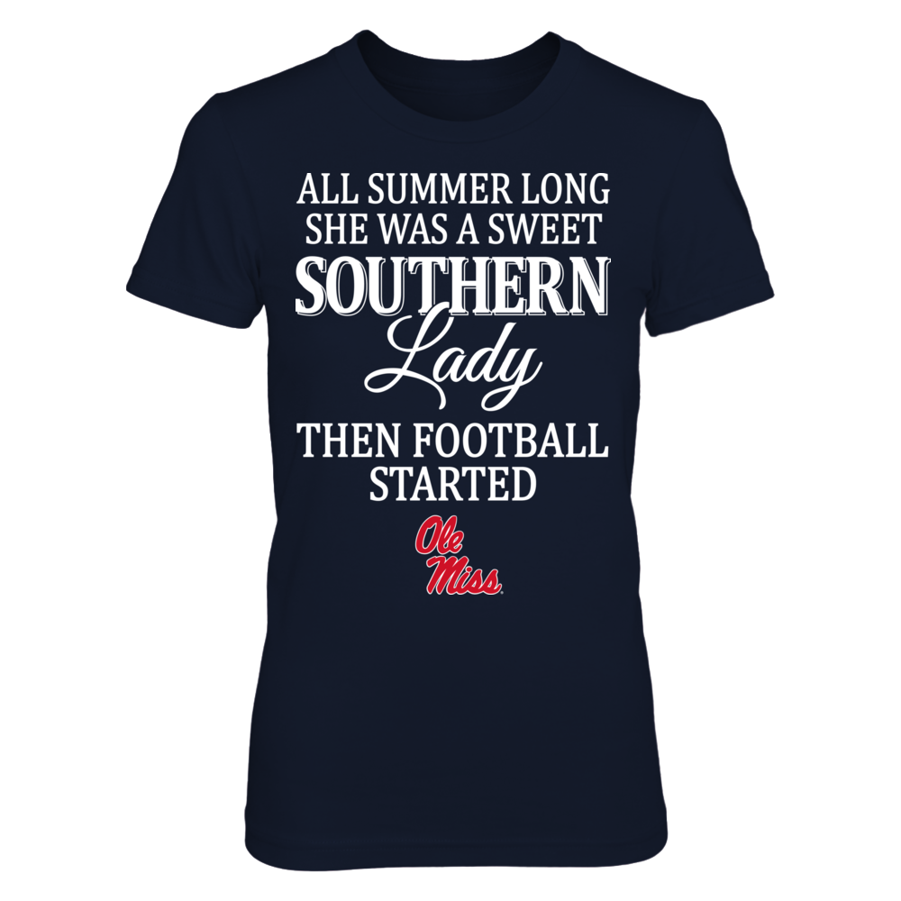 Southern Lady - Ole Miss Rebels Front picture