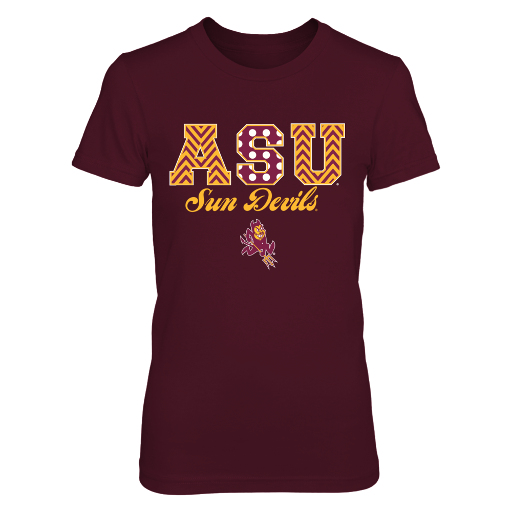 Arizona State Sun Devils - Patterned letter - New banner - IF13-IC13-DS37 Front picture
