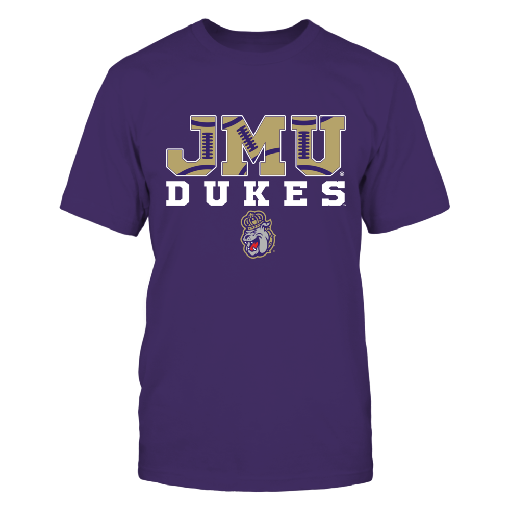 James Madison Dukes - Football Pattern Letter Front picture