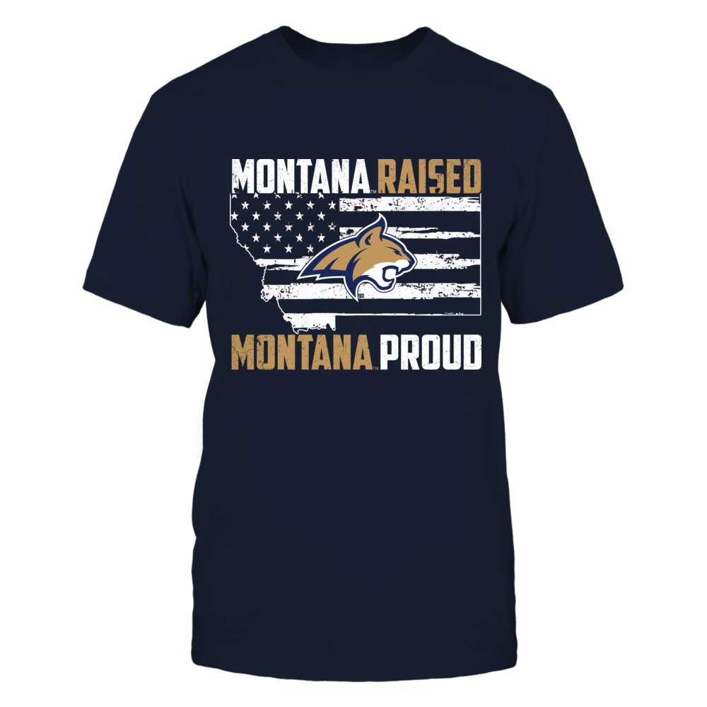 Montana State Bobcats -  Raised - Proud Front picture