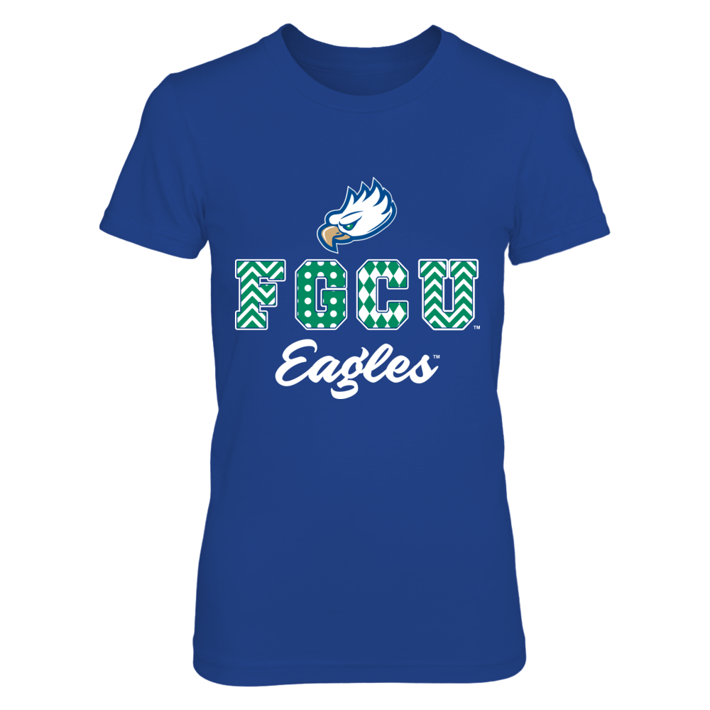 Florida Gulf Coast Eagles - Patterned Letters Front picture