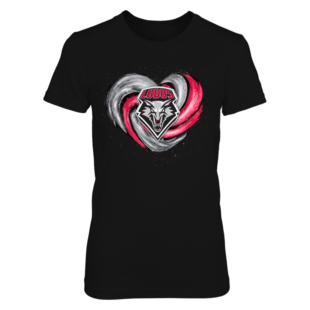 New Mexico Lobos -  Hurricane Heart - Original Front picture