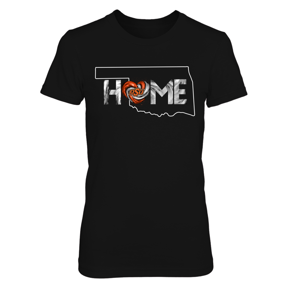 Oklahoma State Cowboys - Home State Outline - Original Hurricane Heart Front picture