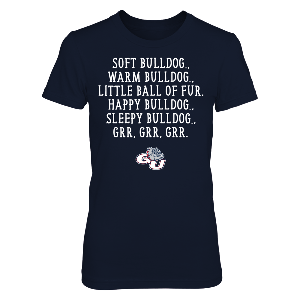 Soft Warm - Gonzaga Bulldogs Front picture