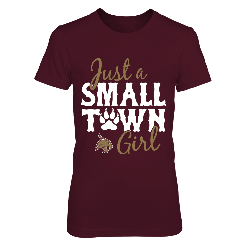 Texas State Bobcats -  Just A Small Town Girl - Paw Front picture