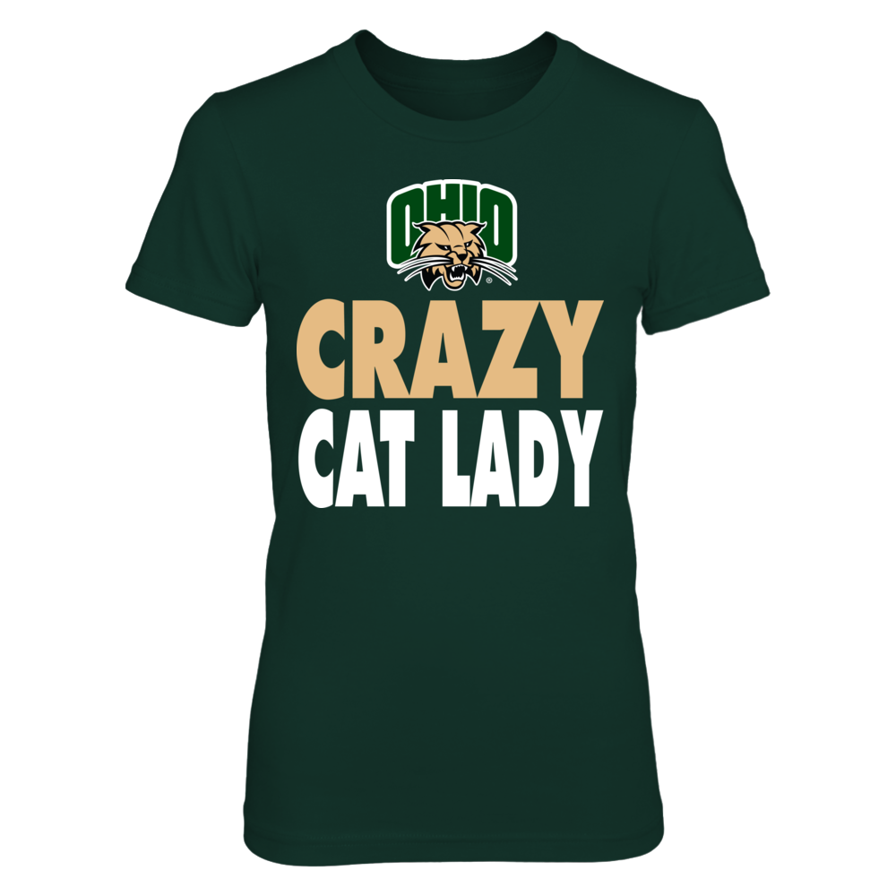 Ohio Bobcats -  Crazy Cat Lady - Basic Front picture