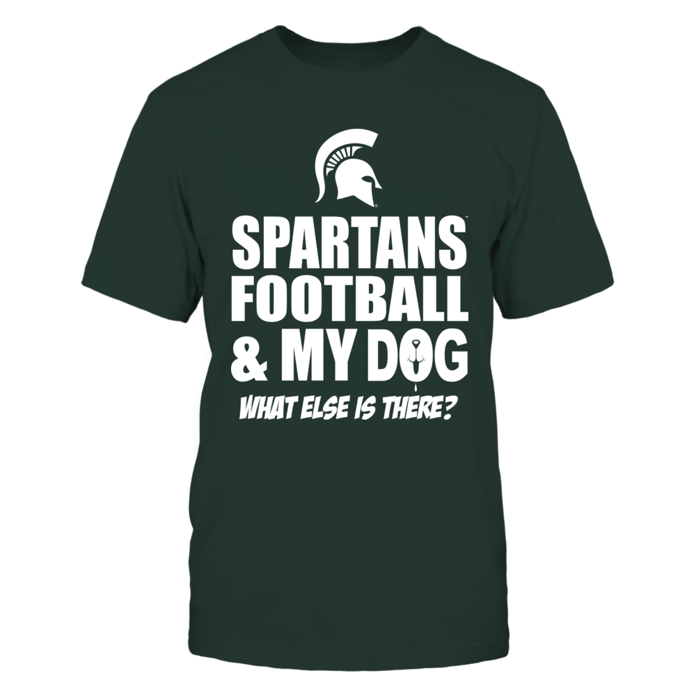 Spartans Football & My Dog Front picture