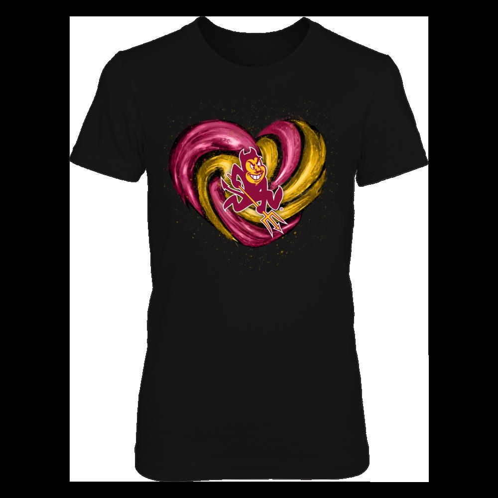 Arizona State Sun Devils -  Hurricane Heart - Original Front picture