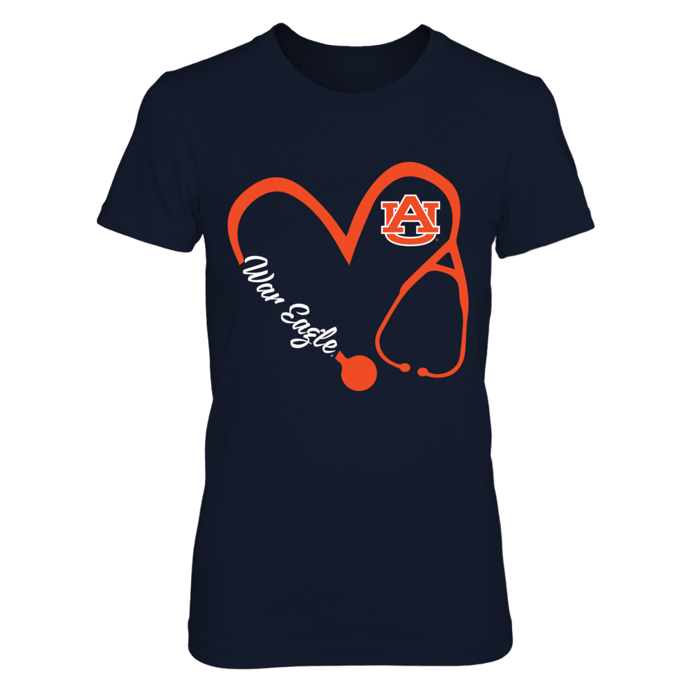 Auburn Tigers - Heart 3-4 - Nurse - IF-IC17-DS37 Front picture
