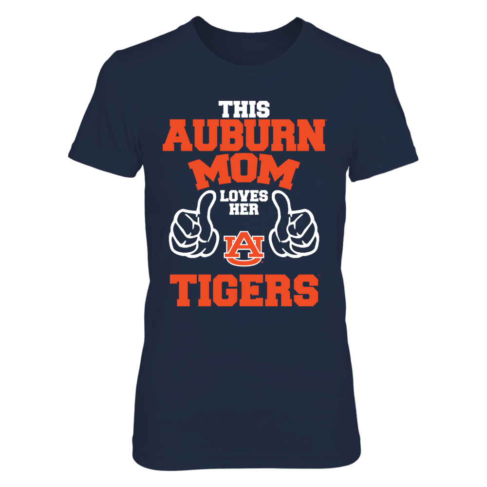 This Auburn Mom Loves Her Tigers Front picture