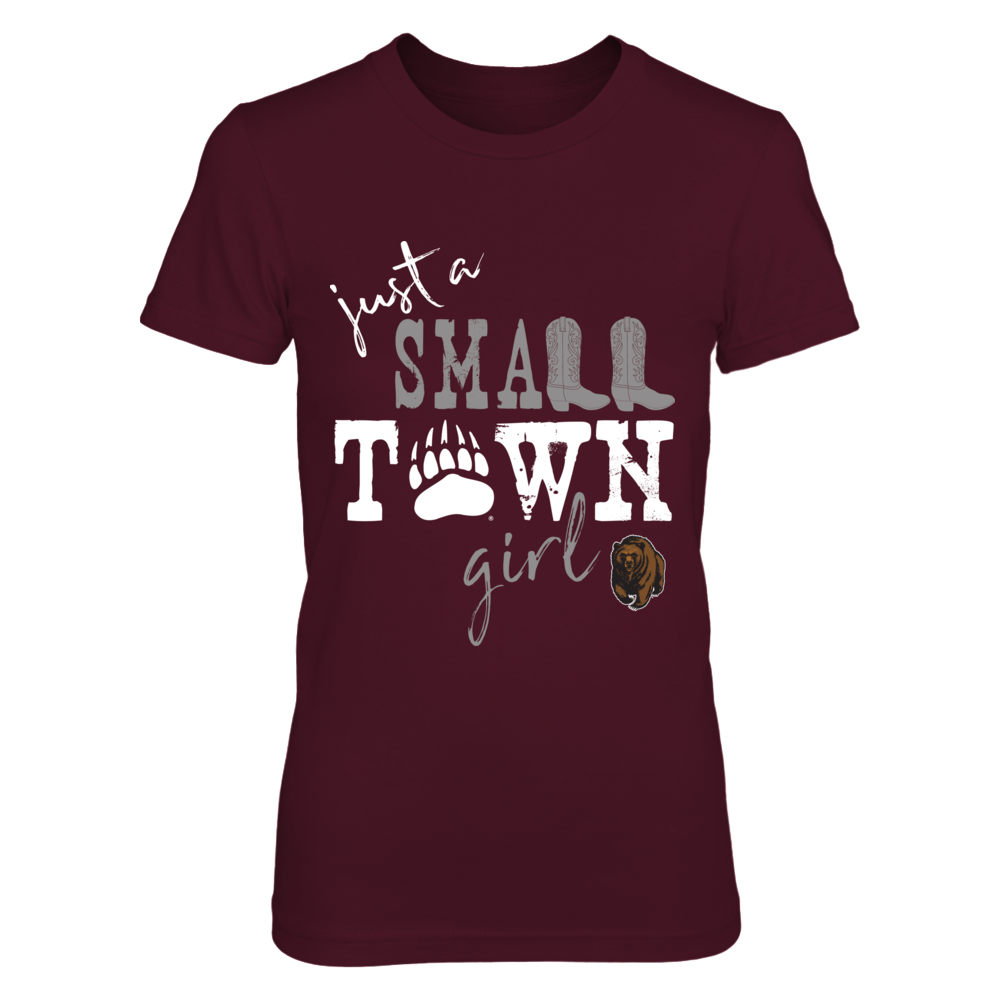 Montana Grizzlies - Small Town Girl - Paw - ver 1 Front picture
