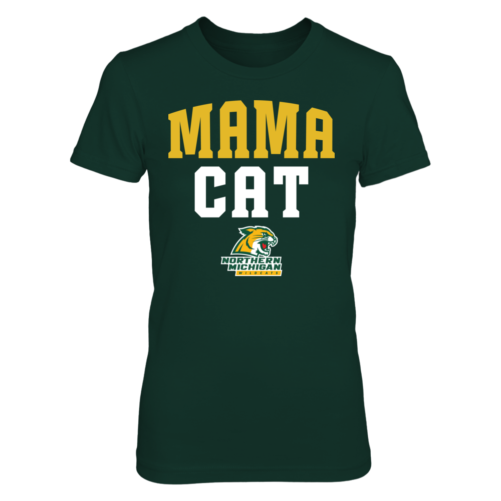 Northern Michigan Wildcats - Mama Cat  - IF-IC78-DS37 Front picture