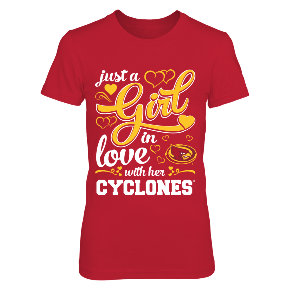 Just A Girl In Love With - Iowa State Cyclones Front picture