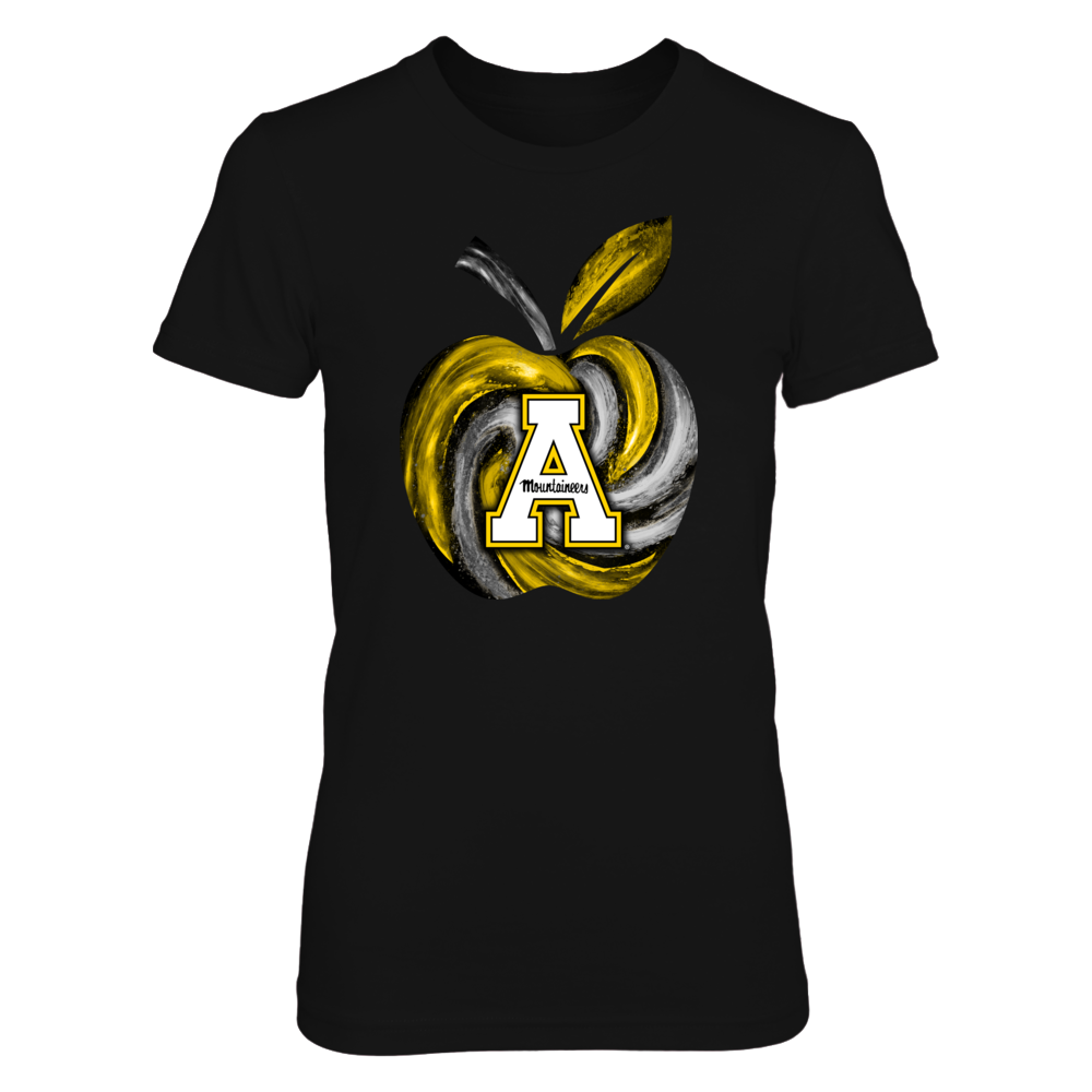 Appalachian State Mountaineers - Hurricane Apple - Teacher Front picture