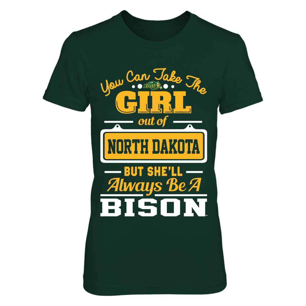 North Dakota State Bison -  Take The Girl Out Front picture