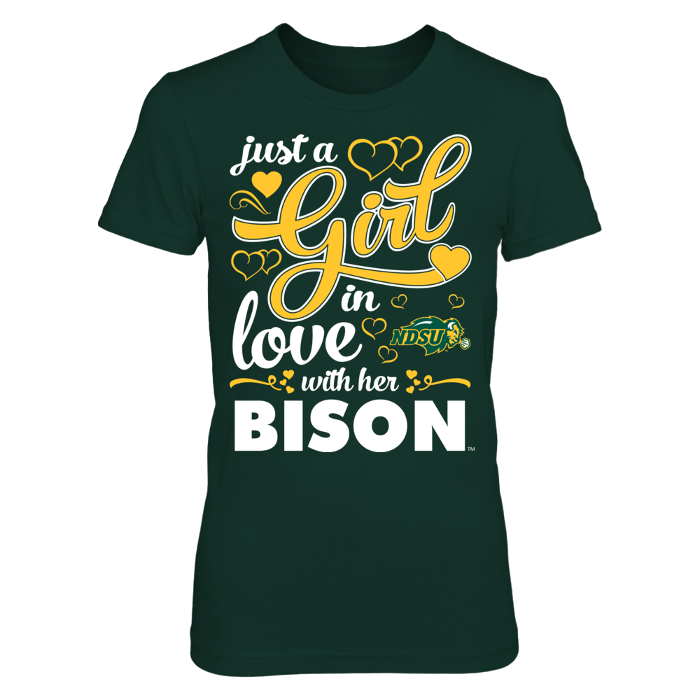 Girl Inlove - North Dakota State Bison Front picture