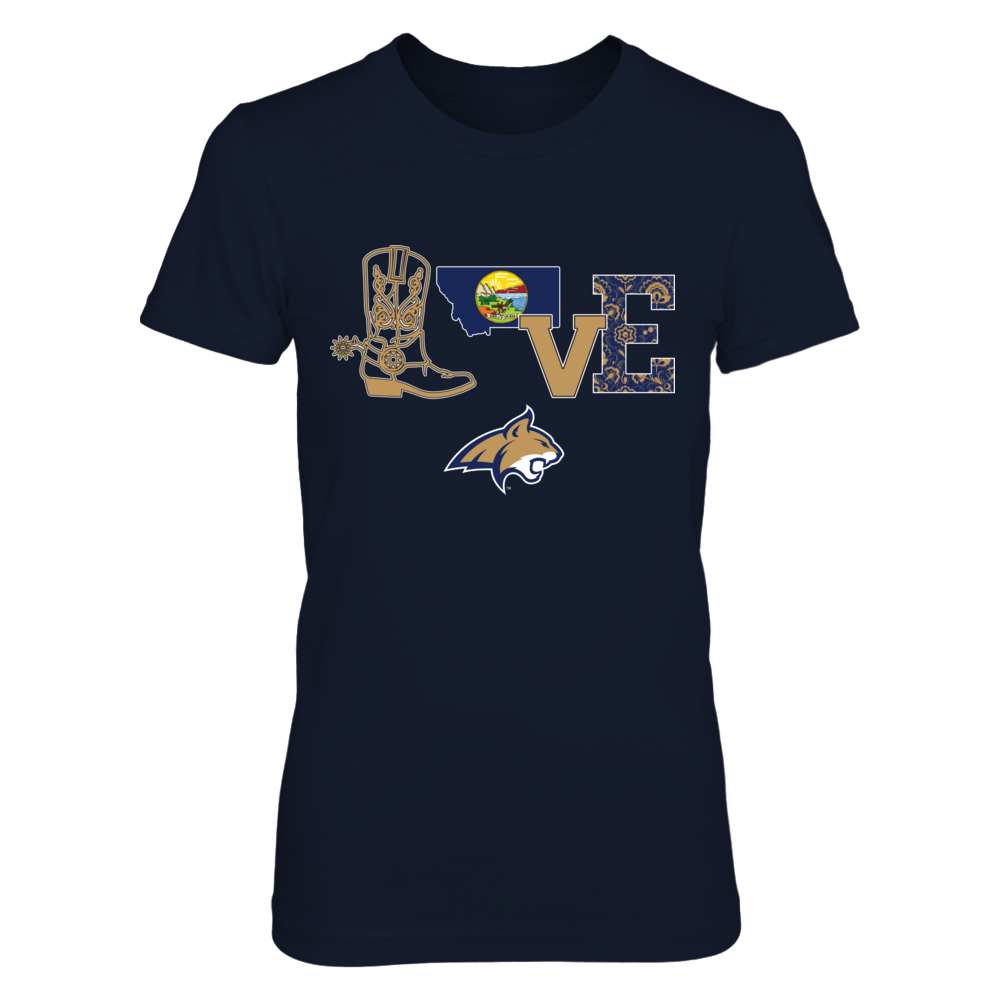 Montana State Bobcats - Love Boot Front picture