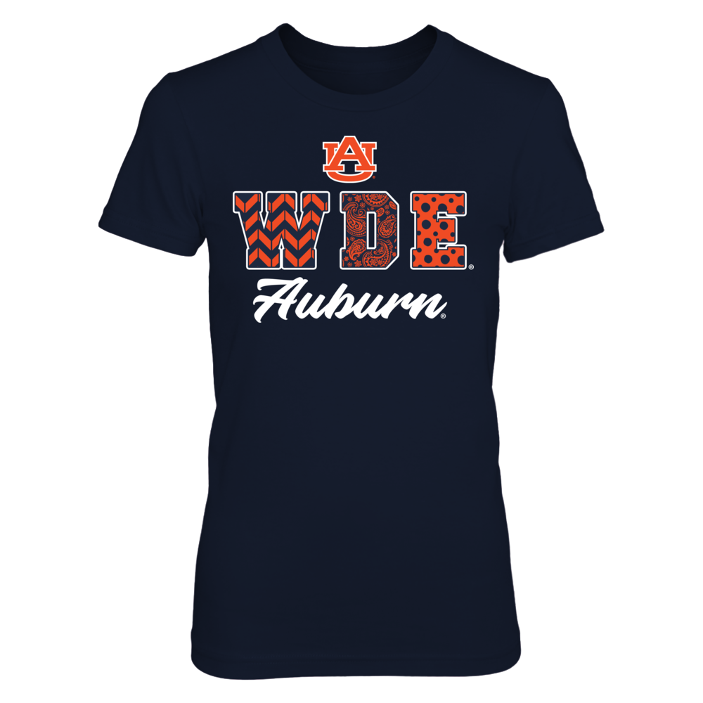 Auburn Tigers - Patterned Slogan Front picture