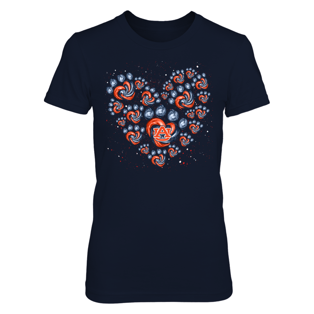 Auburn Tigers - Heart Of Hurricane Paw Front picture