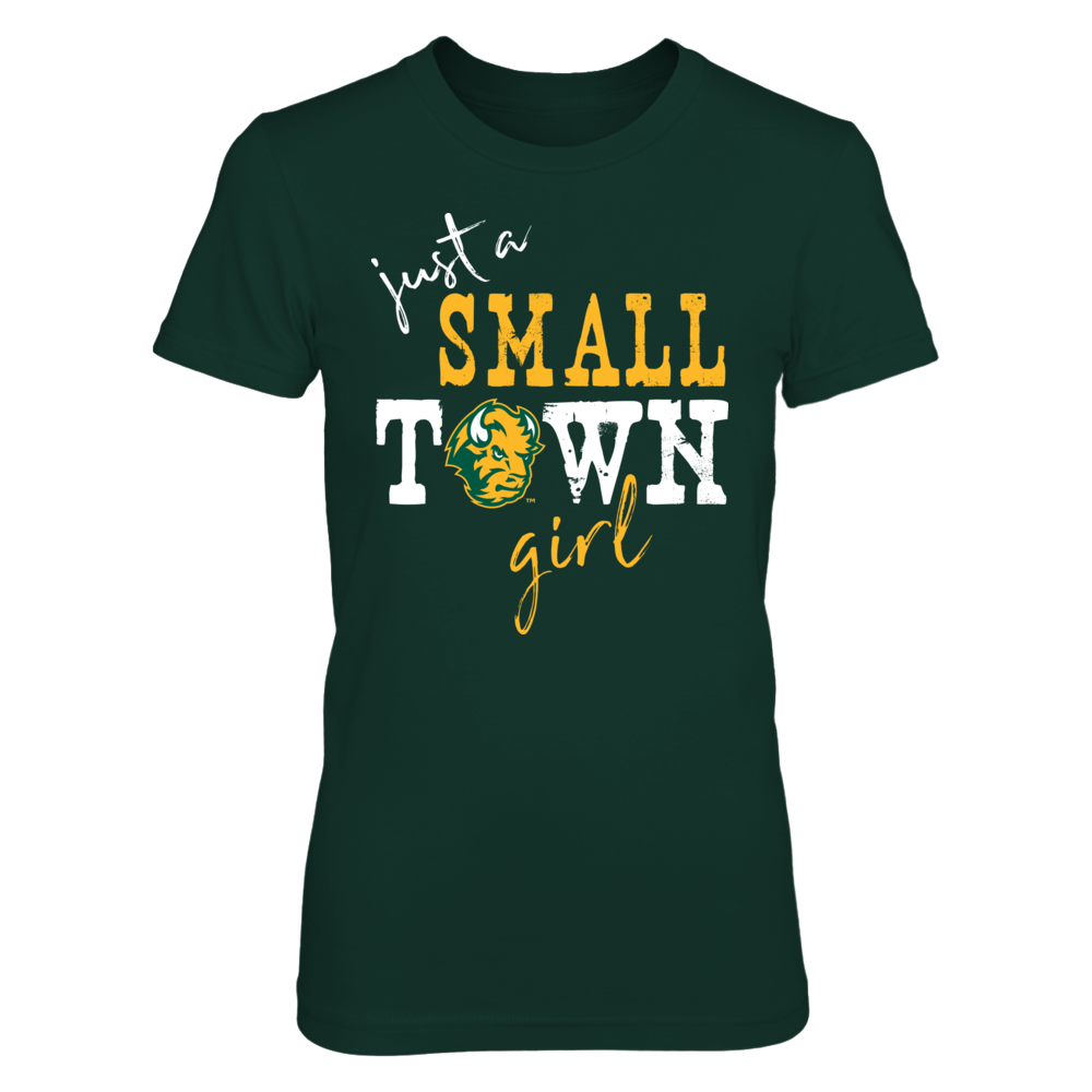 North Dakota State Bison - Small Town Girl - Logo Front picture