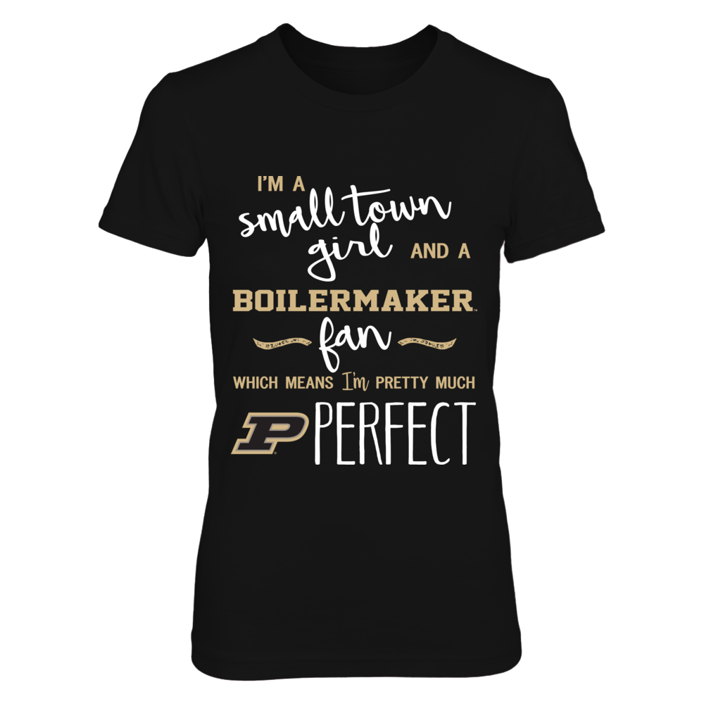 Purdue Boilermakers - Perfect Small Town Girl Front picture