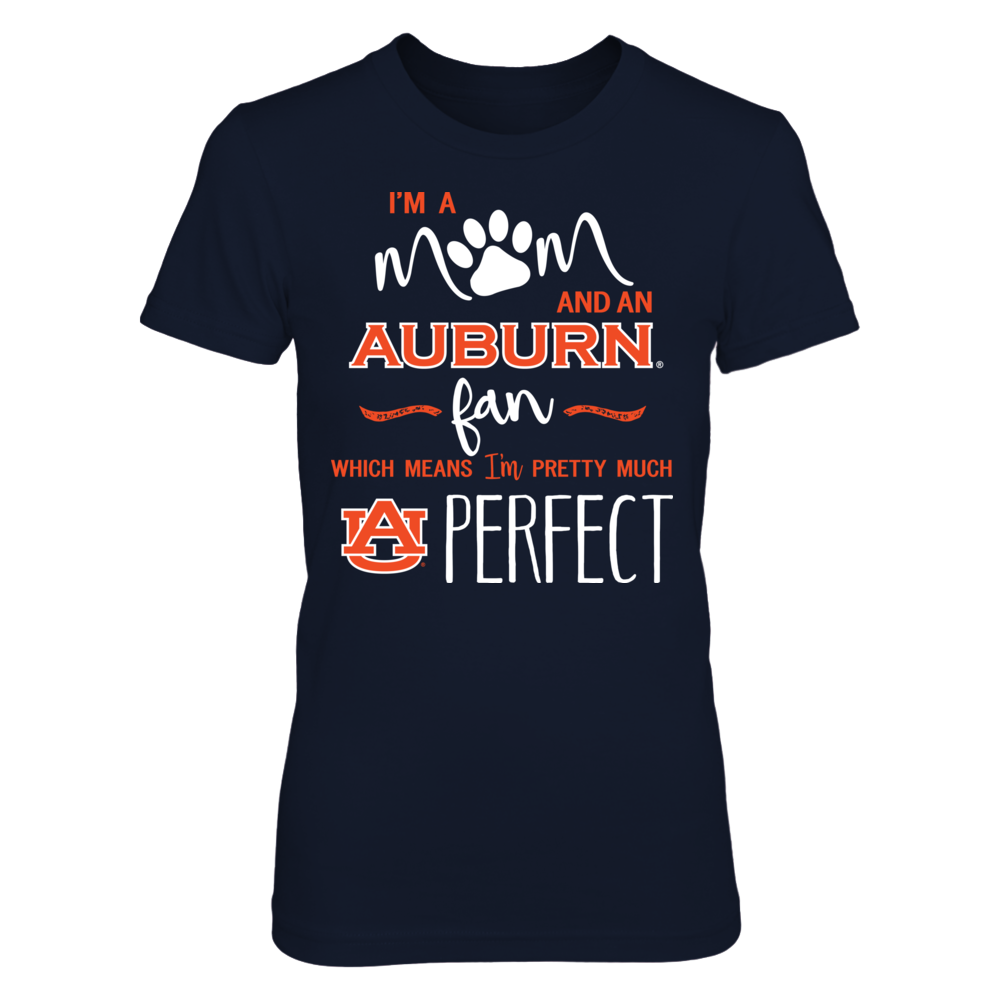 Auburn Tigers - Perfect Mom - Paw Front picture